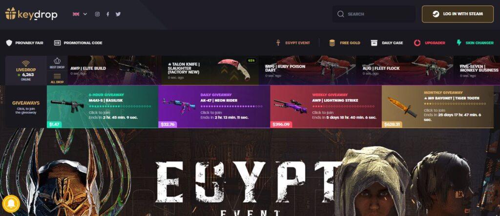 Key-Drop Case Opening Site
